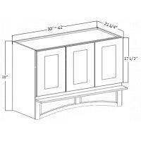 "SIDE PANEL FOR 42"" HIGH WALL CABINET"