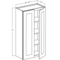 WALL CABINET 2 DOOR 3 SHELF