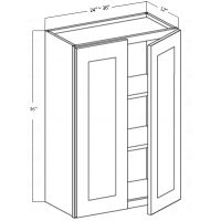 WALL CABINET 2 DOOR 2 SHELF